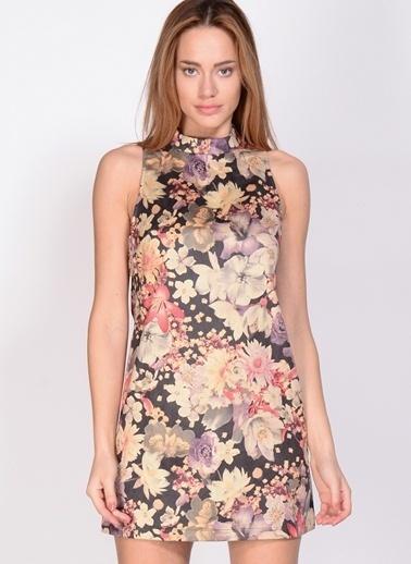Fashion Elbise Renkli